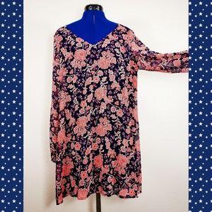 NEW sheer lined boho festival extra long blouse